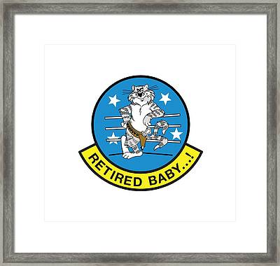 Retired Baby - Tomcat Framed Print