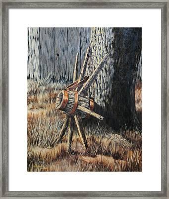 Retired Framed Print by Bob Hallmark
