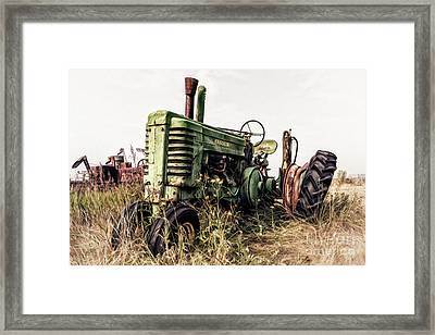 Retired Framed Print