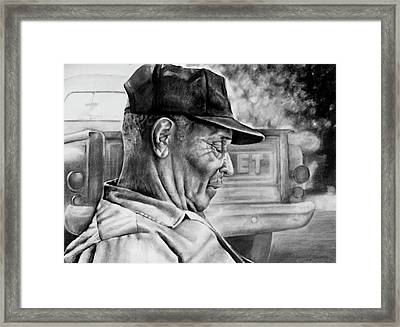 Retired Framed Print by Curtis James