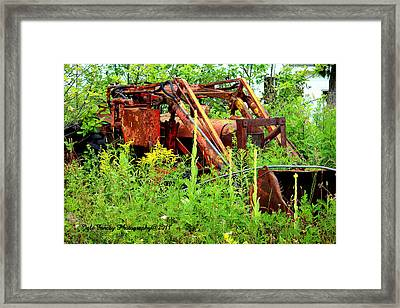Retired Framed Print by Jale Fancey