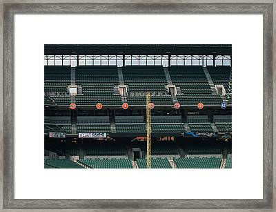 Retired Numbers Of The Orioles Greatest Ever Framed Print