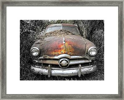 Retired Framed Print by Patrice Zinck