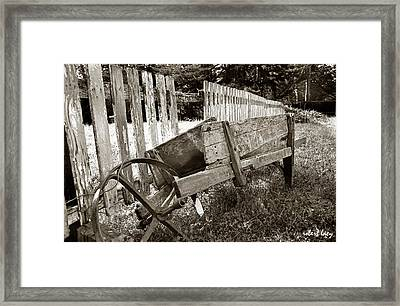 Retired Framed Print by Robert Lacy