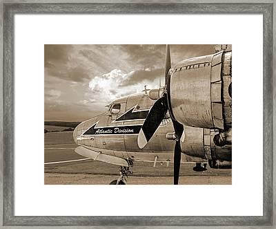Retired - Sepia Framed Print by Gill Billington