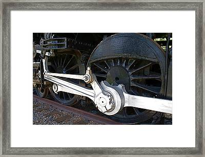 Retired Wheels Framed Print