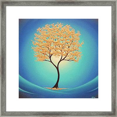 Retreat From Eden Framed Print by Rachel Bingaman