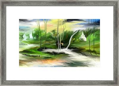 Retreat Framed Print by Rushan Ruzaick