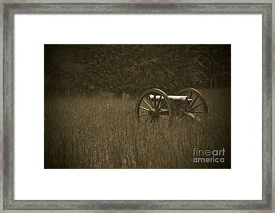 Retreat...never Surrender Framed Print by Charles Dobbs