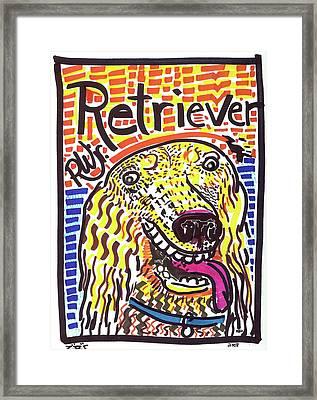 Retriever Framed Print