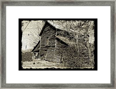 Framed Print featuring the photograph Retro Barn by Larry Bishop