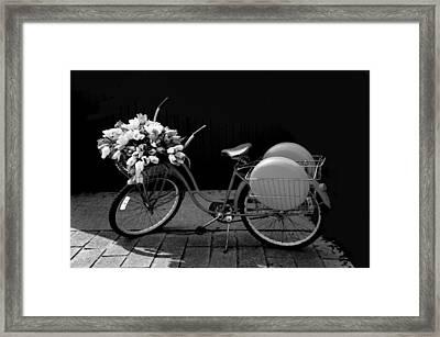 Retro Bicycle  Framed Print