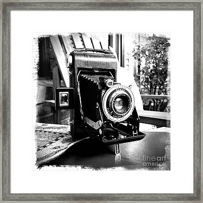 Framed Print featuring the photograph Retro Camera by Daniel Dempster