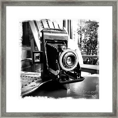Retro Camera Framed Print by Daniel Dempster