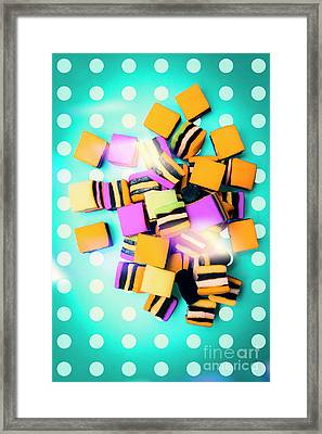 Retro Candy Shop Fine Art Framed Print by Jorgo Photography - Wall Art Gallery