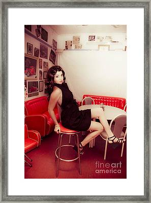 Retro Chic Framed Print by Jorgo Photography - Wall Art Gallery