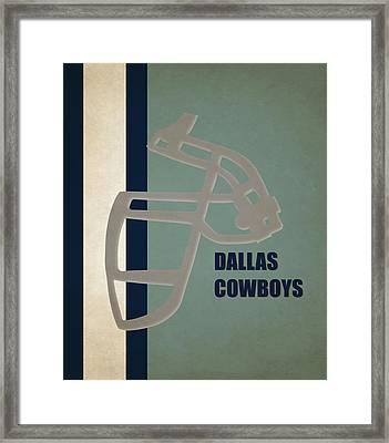 Retro Cowboys Art Framed Print