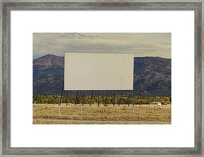 Retro Drive-in Theater Framed Print by James BO  Insogna