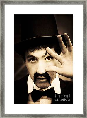 Retro Eye Spy Framed Print by Jorgo Photography - Wall Art Gallery