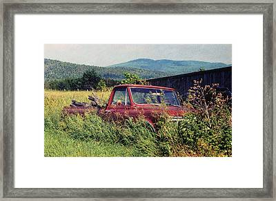 Retro Ford Framed Print by JAMART Photography