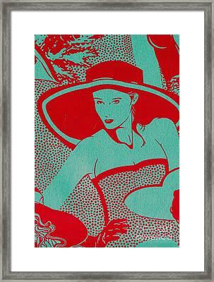 Retro Glam Framed Print