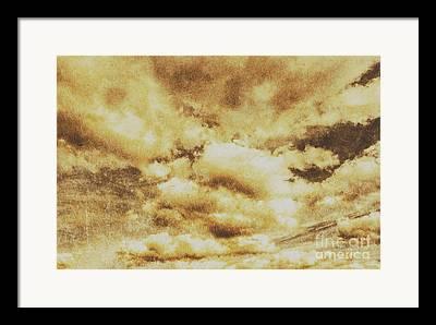 Turbulent Skies Photographs Framed Prints