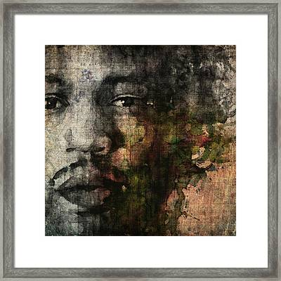 Retro Hendrix @ No6 Framed Print by Paul Lovering