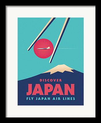 Japan Framed Prints