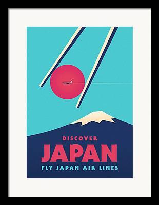 Japan Framed Prints