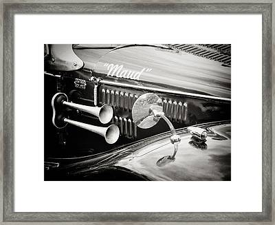 Retro - Maud - Vintage Car Framed Print by Philip Openshaw
