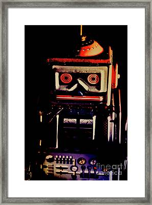 Retro Mechanical Robotics Framed Print by Jorgo Photography - Wall Art Gallery