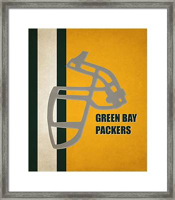 Retro Packers Art Framed Print