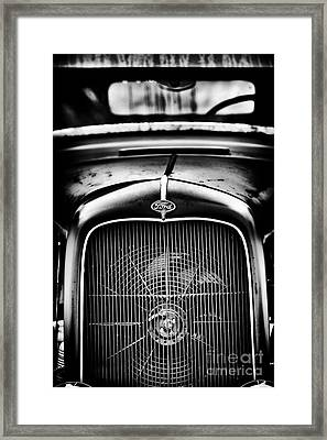 Retro Rat Rod Framed Print by Tim Gainey