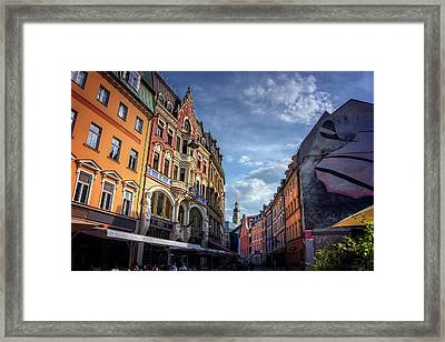Retro Riga Framed Print