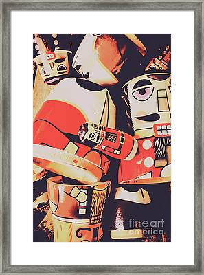 Retro Toy Memories Framed Print