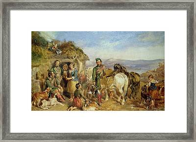 Return From The Shoot Framed Print