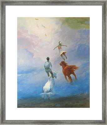 Return Heaven Framed Print