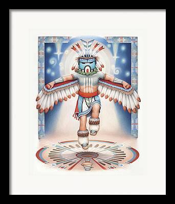 Hopi Drawings Framed Prints