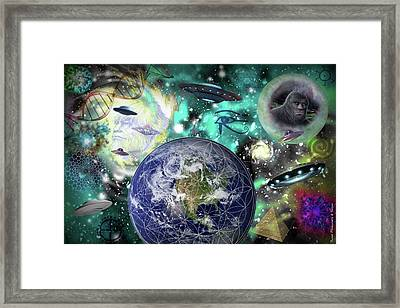 Return Of The Elders 3 Framed Print
