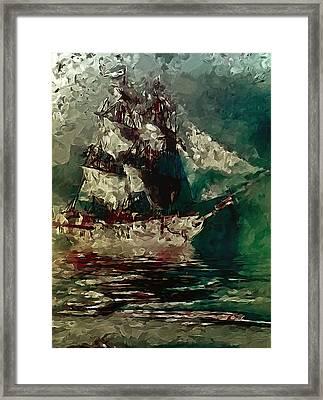 Return Of The Flying Dutchman Framed Print