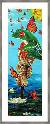 Return Of The Monarchs Framed Print by Cheryl Ehlers