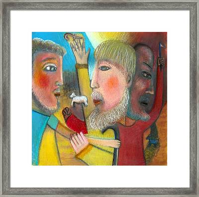 Return Of The Prodigal Son Framed Print by Ward Smith