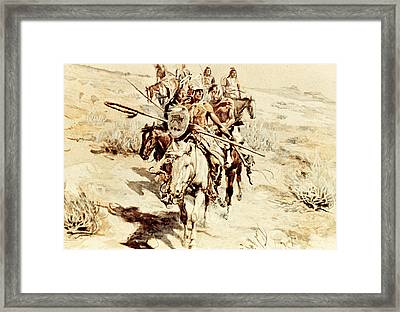 Return Of The Warriors Framed Print