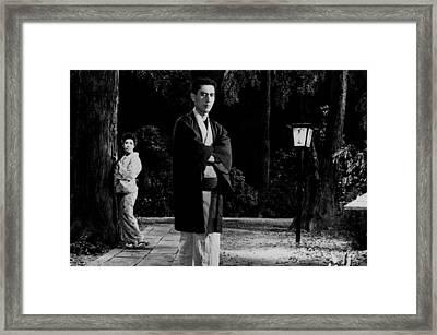 Return Of The Young Boss Framed Print by Dan Twyman