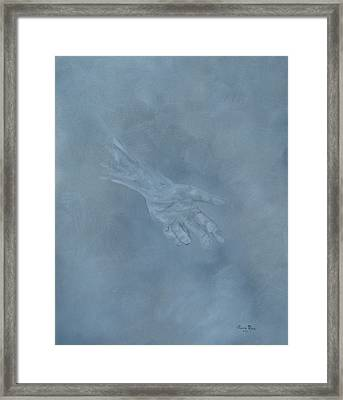 Framed Print featuring the painting Return To Dust by Judith Rhue