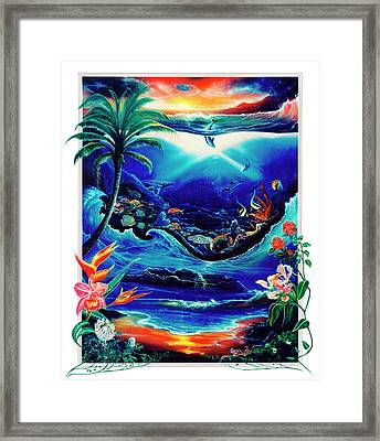 Return To Paradise Framed Print by Sevan Thometz