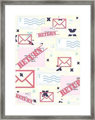 Return To Sender Framed Print