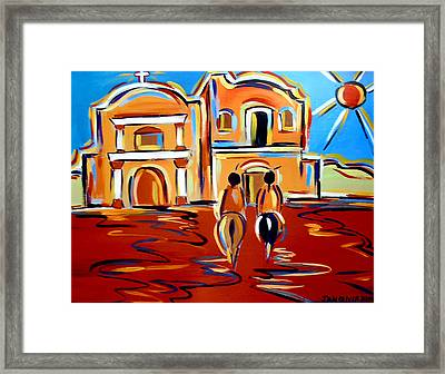 Return To The Mission Framed Print
