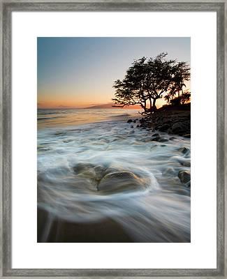 Return To The Sea Framed Print by Mike  Dawson