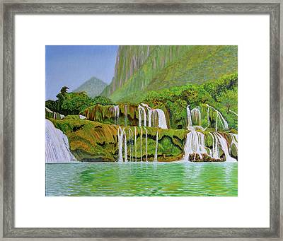 Returned To Paradise Framed Print